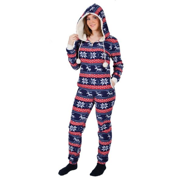 Adult Crimbo One Piece Christmas Costume for Nativity Fancy Dress Mens Ladies